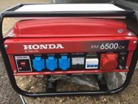 Brand new Honda generator for sale 6.5 kva super silence
