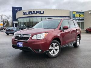 2015 Subaru Forester 2.5i Convenience Package Convenience