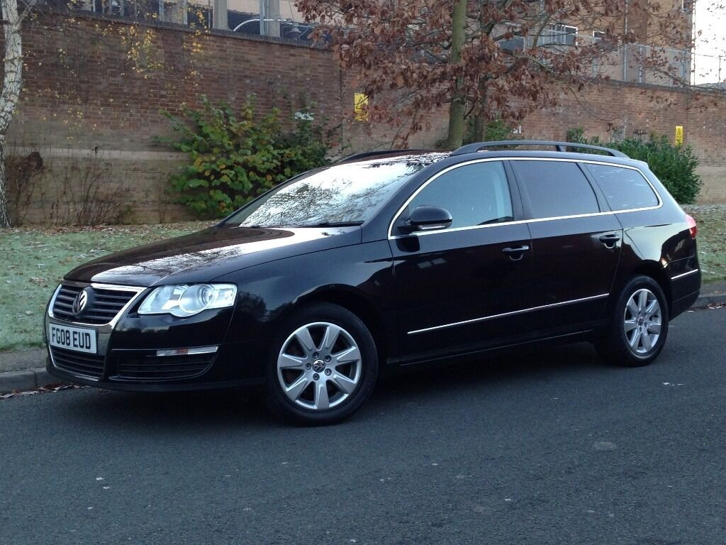 2008 Black Volkswagen Passat 2.0 TDI CR SE Diesel Manual 5dr Estate - P/X