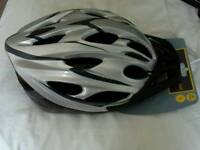 Cycle helmet, new with tags, size large.