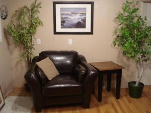 Genuine Leather Club Chair