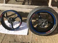 Gsxr 1000 k7 and k8 wheels