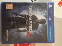 Uncharted 4 for PS4 - still in wrapper