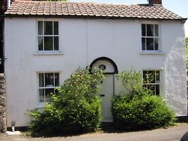 Blagdon. Near Bristol, Bath, Wells etc. Small, one bedroom cottage available.