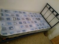 Single BED and brand new mattress FREE