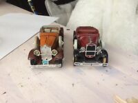 2 old antique ford cars need good homes together cost is £100