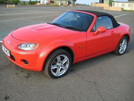 Mazda MX5 Mk3 1800cc Late 2006 Excellent Condition.