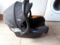 Joie i gemm car seat rear facing up to 13kg
