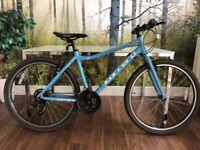 "Carrera Parva Ltd Edition Hybrid Mountain Bike 28"" Frame, 27.5"" Wheels - Blue"