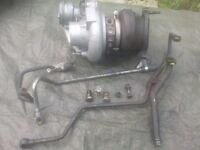 2001- Volvo v70 Petrol turbocharger with reconditioned cartridge: TD04HL - 13T 12 months warranty
