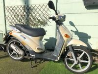 Piaggio Liberty 50cc Scooter/Moped - Cheap to Run