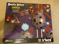 Angry birds square K'nex crater crash