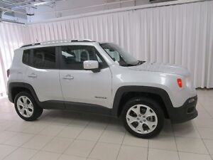 2017 Jeep Renegade LIMITED 4x4 SUV w/ A/C, ALLOYS, NAVIGATION SY