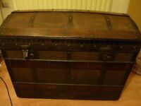 vintage trunk / chest storage