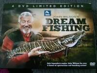 John Wilson 6 new DVDs dream fishing