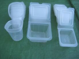 17 Baby Food Plastic Containers for £ 3.00