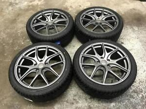 18 Avante Garde Wheels 5x114.3 and All Season Tires 225/40R18 (JAPANESE CARS) Calgary Alberta Preview
