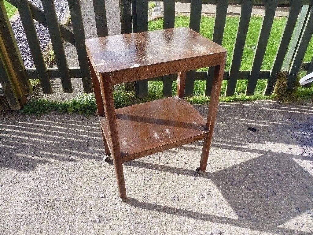 Small Wooden Hostess Trolley Delivery Available