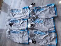 6 pairs of brand new boys adidas shorts age 9-10