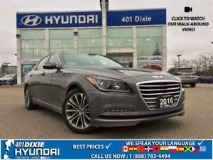 2016 Hyundai Genesis 3.8|PREM|HEATED SEATS|NAV|BACK-UP CAM|