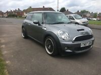 Mini Cooper S hatchback low millig 76k 2007
