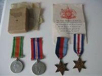military medals world war 2