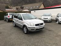 Ford Fusion 1.4 City 5dr*NEW Clutch Fitted*Just Serviced*2 Former Keepers*