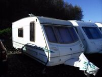 Abbey Vogue GT416 2003 Caravan, 4 berth with L shaped lounge, Alloy wheels and Motor mover
