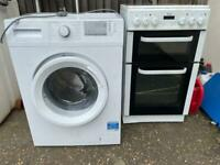 Washing machine and cooker