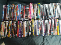 88 Assorted DVDs