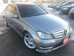 2012 Mercedes-Benz C-Class C350/AWD/NAVI/BACKUPCAMERA/LEATHER/RO