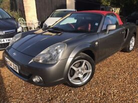 2004 Toyota MR2 Roadster Red Limited Edition Full Service History Low Mileage New Mohair Roof & MOT