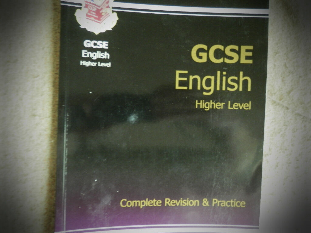 GCSE English revision and practice text book.