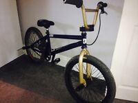 Custom bmx, fly pantera, oddessy brakes, brilliant condition,