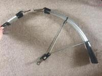 FREE front mud guard for road bike.