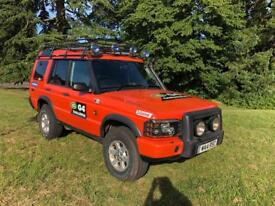 Land Rover TD5 G4 challenge limited edition