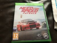 New Xbox one game £33for sale new need for speed payback bargain £35