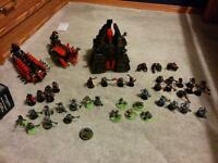 Warhammer 40k Necron force for sale. -phone updated!!-