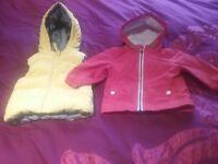 Baby girl/boy small bundle size 9-12
