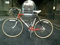 Retro Vintage Road Bike Reynolds 501