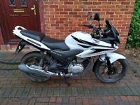 2011 Honda CBF 125 motorcycle, long MOT, alarm, service history, good runner, learner legal ,,,,