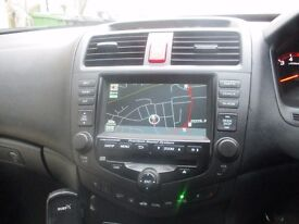 Factory fitted stereo(CD), full interior leather, Sat Nav
