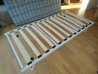 Trundle single with mattress