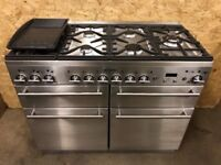 MAYTAG 110 cm MULTIFUNCTION RANGE COOKER IN STAINLESS STEEL 3 MONTS WARRANTY