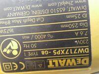 Dewalt Compound Mitre Saw DW 717 xps