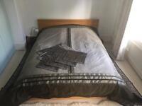 Indian Silk Bedspread