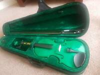 Blue Moon 3/4 Violin (Green in Colour).