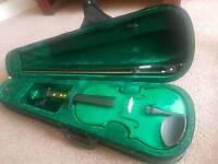 Blue Moon 3/4 Violin (Green in Colour).