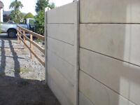Concrete Fence panels for sale £4 each in great condition