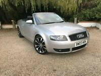 Audi a4 convertible 3.0 v6 automatic full service